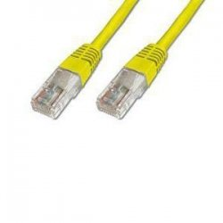 kabel patch UTP c5e 0,5m yellow