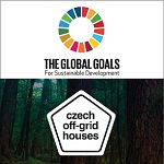 Czech Off-Grid houses, awarded by UN