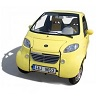 Smart agile electric car for two