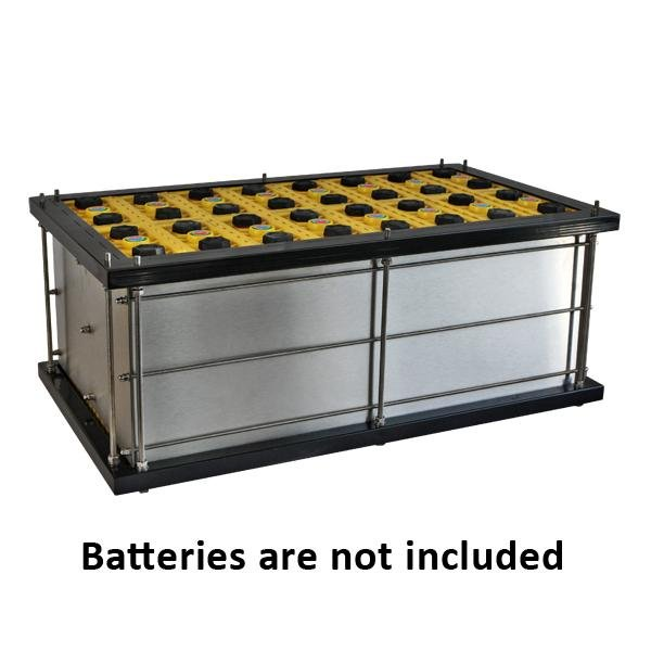 Battery box for LiFeYPO4 100Ah cells